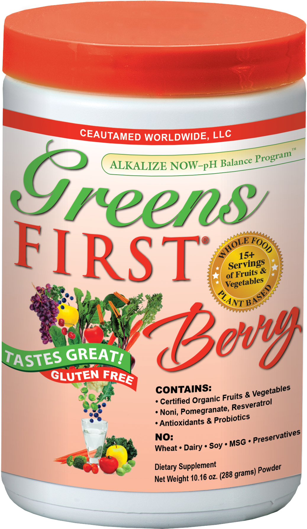 Greens First Berry Flavor